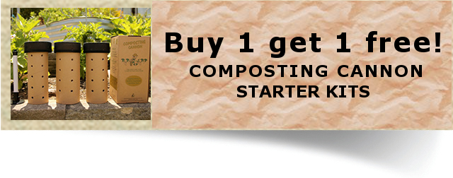 Get composting straightaway! Buy your starter kit online now