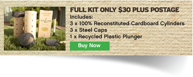 Buy the Composting Cannon set online now!