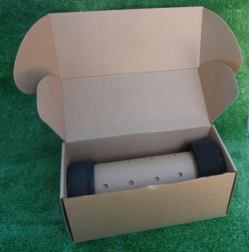 Cannons in their box