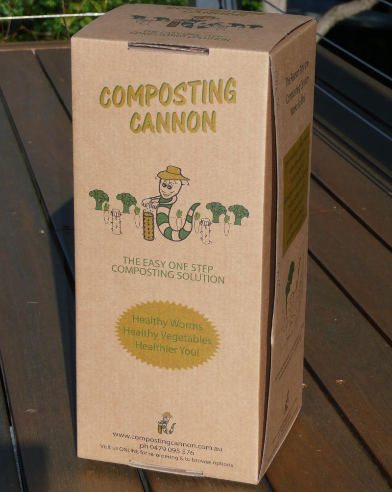 Composting Cannon box
