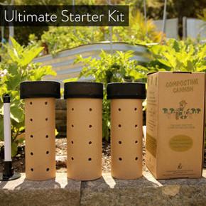 Ultimate composting starter kit